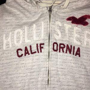 Hollister Tops - Zip up hoodie